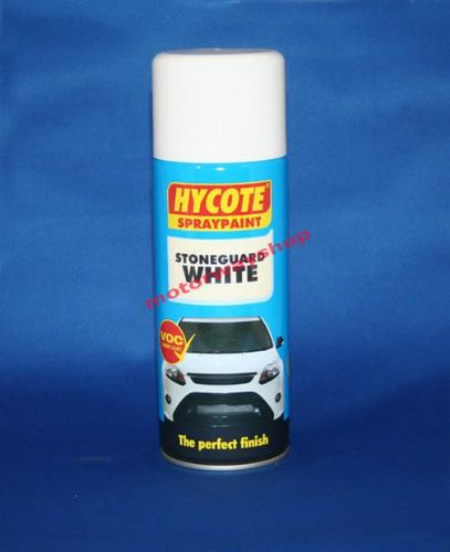 Stoneguard White Spray Paint Hycote 400ml Aerosol